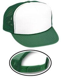 Polyester Foam Front 5 Panel High Crown Mesh Back Trucker Hat