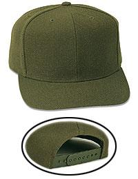 Wool Blend Pro Style Caps (Youth)