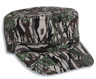 Camouflage Cotton Twill Army Style Caps
