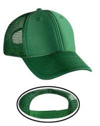 Polyester Foam Front Low Profile Pro Style Mesh Back Caps