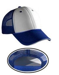 Polyester Foam Front Sandwich Visor Low Profile Pro Style Mesh Back Caps