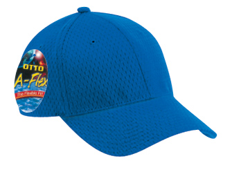 Otto A-Flex  Stretchable Polyester Pro Mesh Low Profile Pro Style Caps