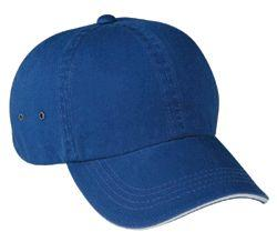 Garment Washed 6 Panel Cotton Twill Cap