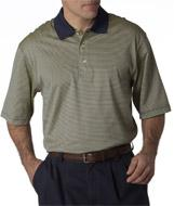 Adult Short-Sleeve Stripe Lisle