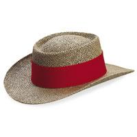 Gambler Straw Hat