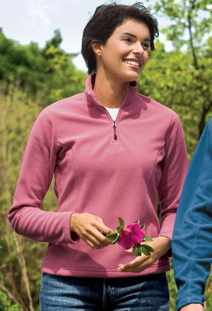 Signature� - Ladies Attivo 1/4 Zip Microfleece