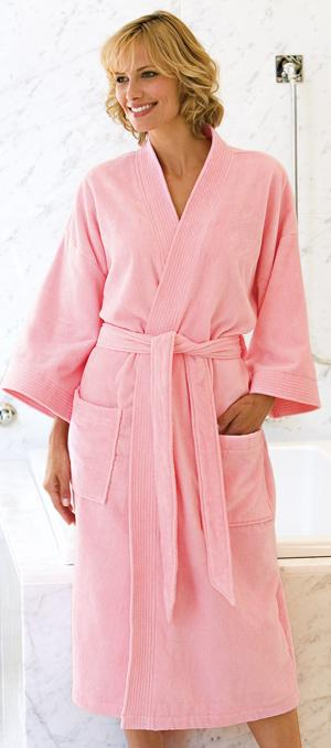 Terry Velour Bathrobe