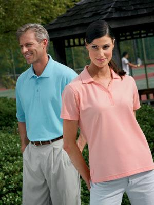 Ladies' Pro-Wear Honeycomb Pique Sport Shirt