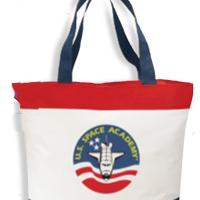 Deluxe Polyester Zipper Tote Bag