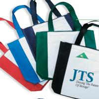 Polyester Zipper Tote Bag