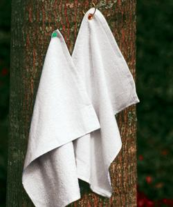 Fingertip Towel Hemmed Grommeted & Hooks