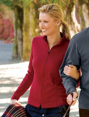 Ladies' Pima Interlock Jacket