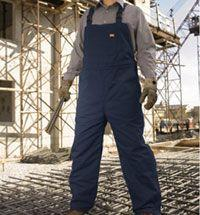 Duck Insulated Bib Overall