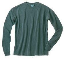 Men's Long Sleeve Garment-Dyed T-Shirt