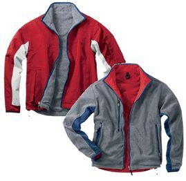 Reversible Hip-Length Nylon/Fleece Jacket