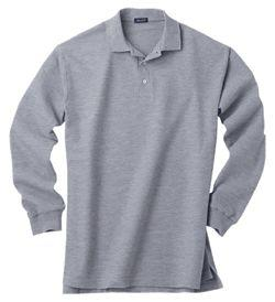 Men's Easy-Care Long-Sleeve Polo