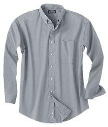Men's Wrinkle-Free Pinpoint Dress Shirt