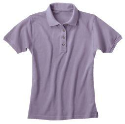 Ladies' 100% Egyptian Cotton Pique Placket