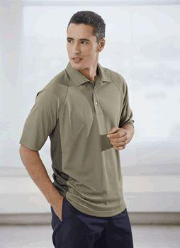SOLAR Shield Men's Short Sleeve STRETCH Athletic Sport Shirt with TONAL COLOR GUSSETS and RAGLAN SLEEVES