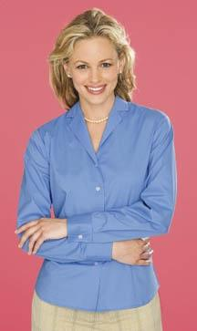 Ladies Stretch Easy-Care Dress Shirt