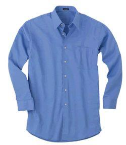 Long-Sleeve Performance Twill Dress Shirt