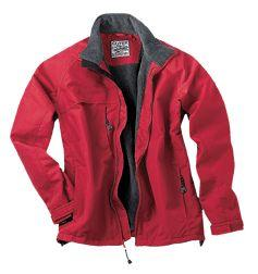 Hip-Length Water-Resistant Jacket with Fleece Lining