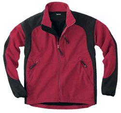 Bonded Micro-Fleece, Zip-Front Jacket