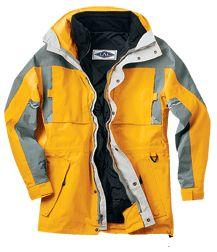 3-in-1 Waterproof & Breathable 3/4-Length Jacket