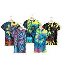 Ladies' Multi-Color Cut-Spiral Short Sleeve Jersey T-shirt