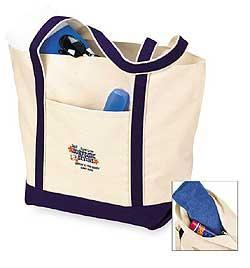 Bay Runner Zippered Boat Tote