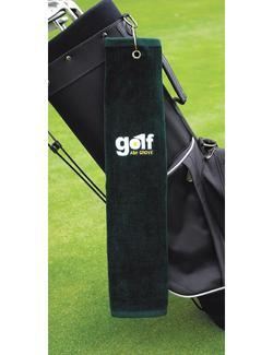 Tri-Fold Golf Towel