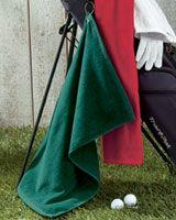Flat Golf Towel with Grommet