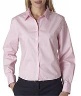 Ladies' Stretch Poplin Blouse