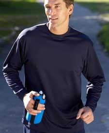 Adult Cool-N-Dry Long-Sleeve Sport Tee