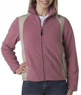Ladies' Outdoor Escape Full-Zip Performance Micro Fleece