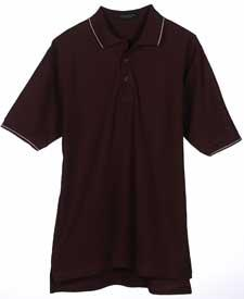 Men's Egyptian Pima Polo with Tipping