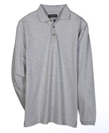 Adult Long-Sleeve Pique Classic Polo