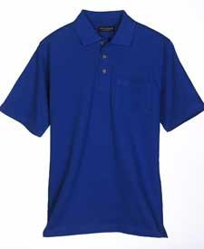 Adult Pique Classic Polo with Pocket