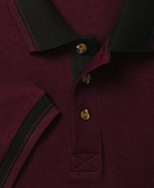 Adult Honeycomb-Stitch Polo