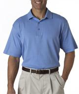 Men's Pima Interlock Solid Polo