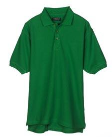 Men's Luxury Double Pique Polo
