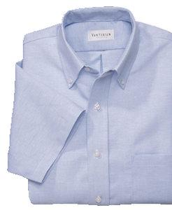 Short-Sleeve Oxford Dress Shirt