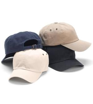 Garment Washed Cotton 6-Panel Cap
