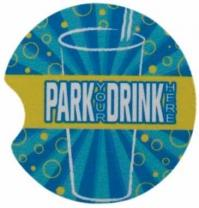 "2-1/2"" Dia. X 1/4"" Thick Full Color Auto Cup Holder Coaster"