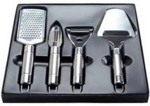 Deluxe Stainless Steel Kitchen Utensil Set