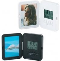 Atomic Digital Alarm Clock With Picture Frame