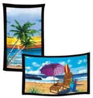 "Stock Design Tote Towels - 35"" X 60"" Beach Towel"