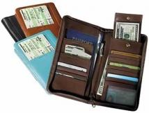 International Document/Passport Case - Synthetic Leather