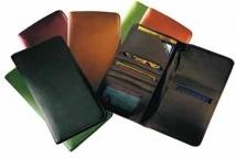 Airline Ticket/Passport Case - Synthetic Leather 6.4 oz.