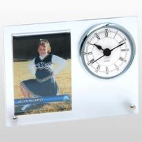 Studded Attached Picture Frame Clock
